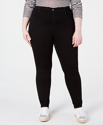 Trendy Plus Size 721 High-Rise Skinny Jeans Levi's®