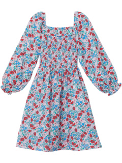 Audrey Long Sleeve Dress (Toddler/Little Kids/Big Kids) COTTON ON