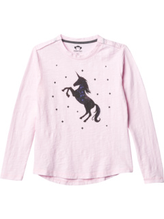 Unicorn Galaxy Elara T-Shirt (Little Kids/Big Kids) Appaman Adaptive Kids