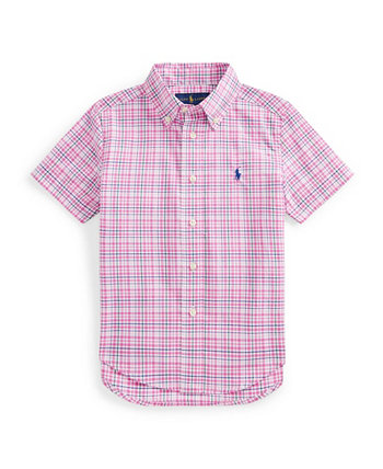 Little Boys Plaid Cotton Poplin Shirt Ralph Lauren
