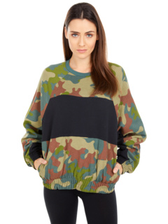 One and Only Dolman Fleece Crew Hurley