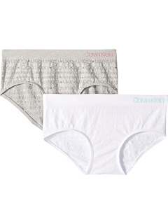 2-Pack Seamless Hipster (Little Kid/Big Kid) Calvin Klein