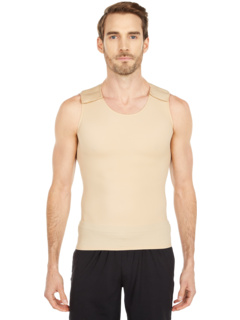 Compression Muscle Tank with Hook-and-Loop Closure at Shoulders InstantRecoveryMD