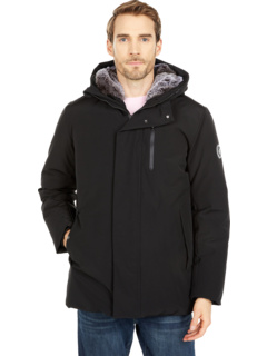 Copy Faux Fur Lined Hooded Winter Parka Save the Duck