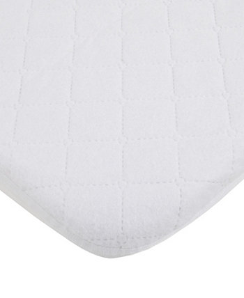 Water Resistant Quilted Mini Crib Fitted Mattress Pad Carters