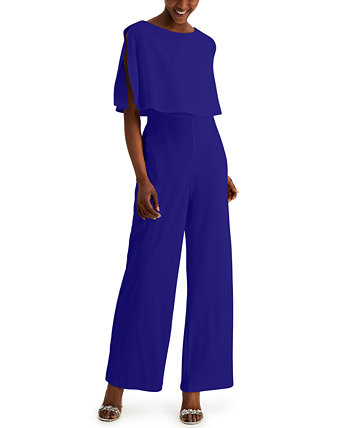 Overlay Jumpsuit Connected
