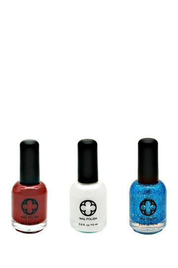 3-Piece Nail Polish Set - Star Spangled Glamour Status