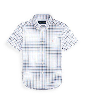 Toddler Boys Plaid Cotton Poplin Shirt Ralph Lauren
