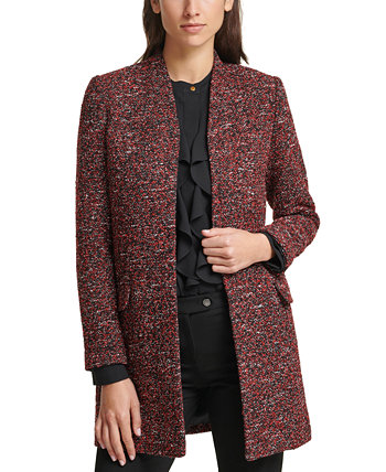 Open-Front Tweed Jacket Calvin Klein