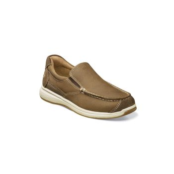 Little Kid's & Kid's Great Lakes Jr. Moc-Toe Slip-On Leather Loafers Florsheim
