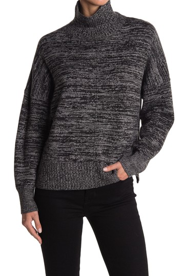 Space Dye Mock Neck Sweater French Connection