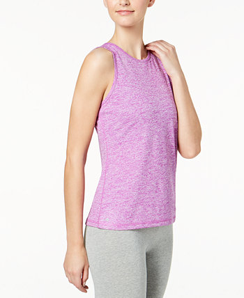 Heathered Keyhole-Back Tank Top, Created for Macy's Ideology