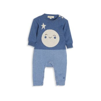 Baby's Moon Intarsia Playsuit The Bonnie Mob
