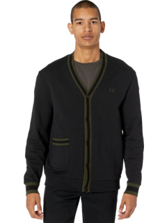 Tipped Loopback Cardigan Fred Perry
