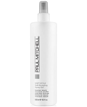 Soft Style Soft Sculpting Spray Gel, 16.9-oz., from PUREBEAUTY Salon & Spa PAUL MITCHELL