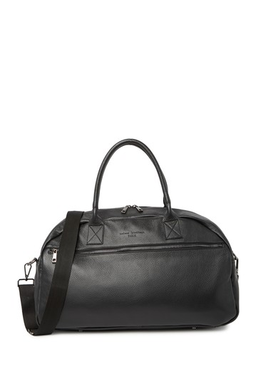 Leather Weekend Bag Maison Heritage