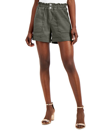 INC Paperbag-Waist Shorts, Created for Macy's INC International Concepts