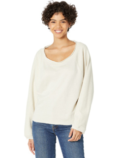Linen French Terry Blouson Sleeve Pullover Chaser