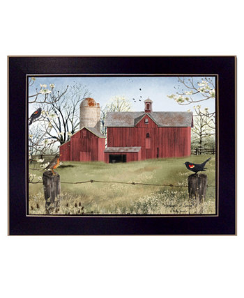 "Harbingers of Spring By Billy Jacobs, Printed Wall Art, Ready to hang, Black Frame, 18"" x 14"" Trendy Décor 4U"