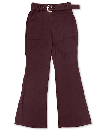 INC Belted Wide-Leg Pants, Created for Macy's INC International Concepts