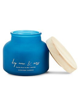 Deep Ocean & Moss Scented Candle DW HOME