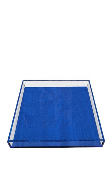 Neon Blue Large Tray R16 HOME