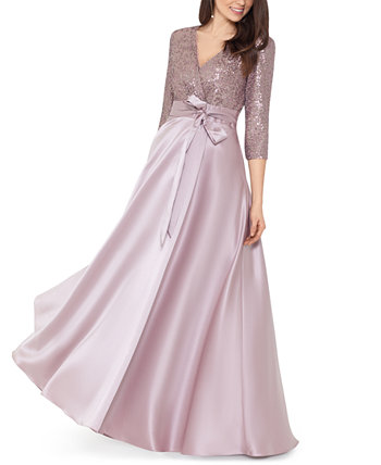 Sequinned Ball Gown XSCAPE