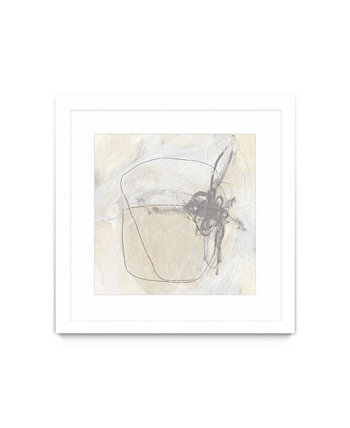 "Periphery II Matted and Framed Art Print, 30"" x 30"" Giant Art"