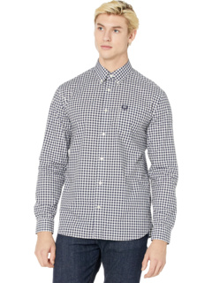 Gingham Long Sleeve Shirt Fred Perry