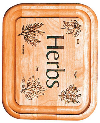 Herb Branded Bar Board Catskill Craft