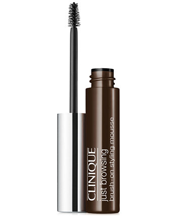 Just Browsing Brush-On Styling Mousse, 0,07 унции Clinique