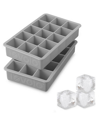 Perfect Cube Silicone Ice Cube Molds, Set of 2 Tovolo