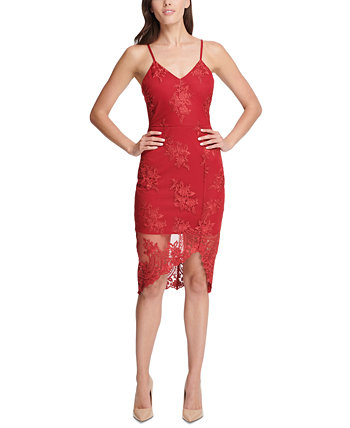 Embroidered Lace Sheath Dress GUESS