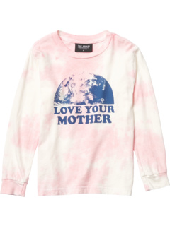 Love Your Mother Tie-Dye Long Sleeve (Toddler/Little Kids/Big Kids) Tiny Whales