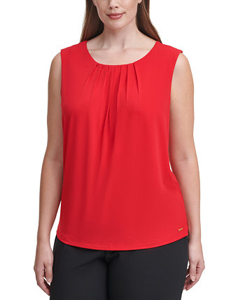 Plus Size Sleeveless Top Calvin Klein