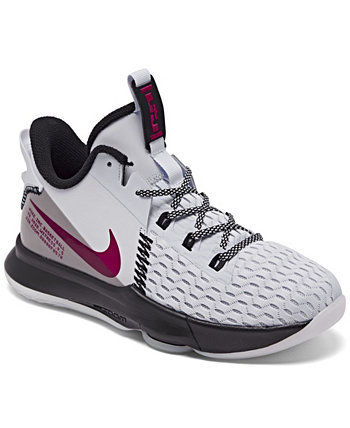 Big Boys LeBron Witness 5 Basketball Sneakers from Finish Line Nike