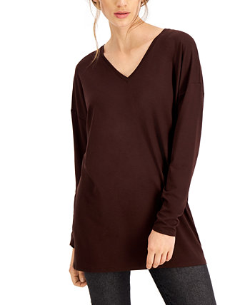 Organic V-Neck Top Eileen Fisher