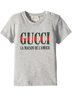 "Футболка ""Дом любви"" (младенец) Gucci Kids"
