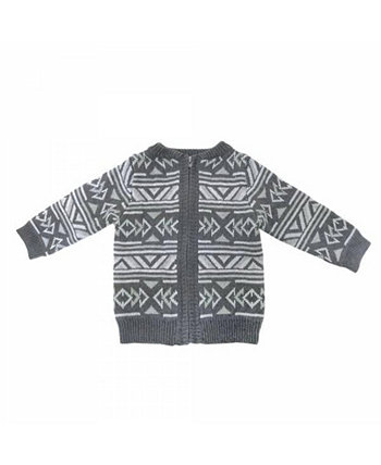 Toddler and Baby Boys and Girls Cotton Knit Jackets and Pullovers Earth Baby Outfitters