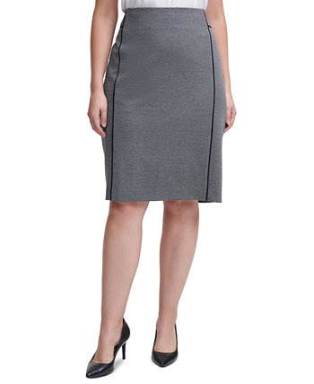 Plus Size Pencil Skirt Calvin Klein