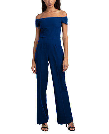 Windsor Off-The-Shoulder Jumpsuit Trina Turk