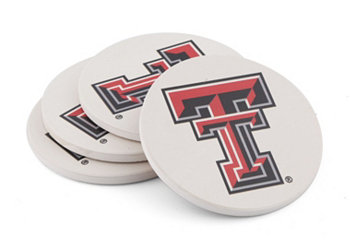 Texas Tech University Coasters, Set of 4 THIRSTYSTONE