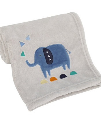 Modern Jungle Pals Super Soft Elephant Baby Blanket Carters
