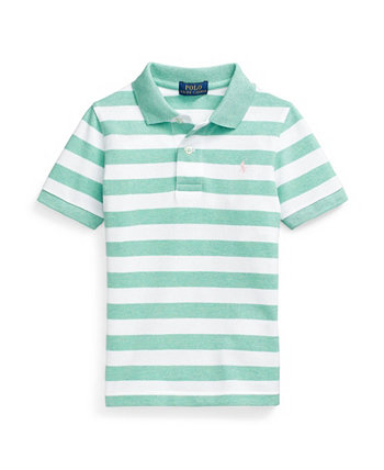 Little Boys Striped Cotton Mesh Polo Shirt Ralph Lauren