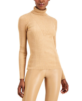 INC Petite Ribbed Turtleneck, Created for Macy's INC International Concepts