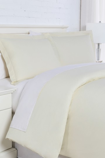 Luxury Collection 200 Thread-Count 100% Cotton Oversized Duvet Cover Sets - King/California King SOUTHSHORE FINE LINENS