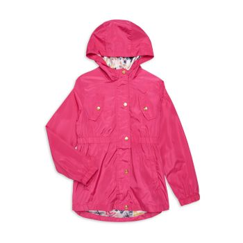 Girl's Patch Anorak Limited Too