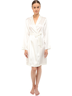 Silk Short Robe La Perla