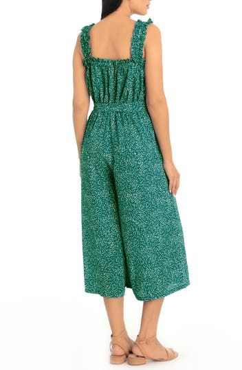 Speckled Spray Cropped Jumpsuit London Times