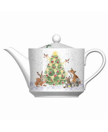 Teapot - Oh Christmas Tree Wrendale Designs